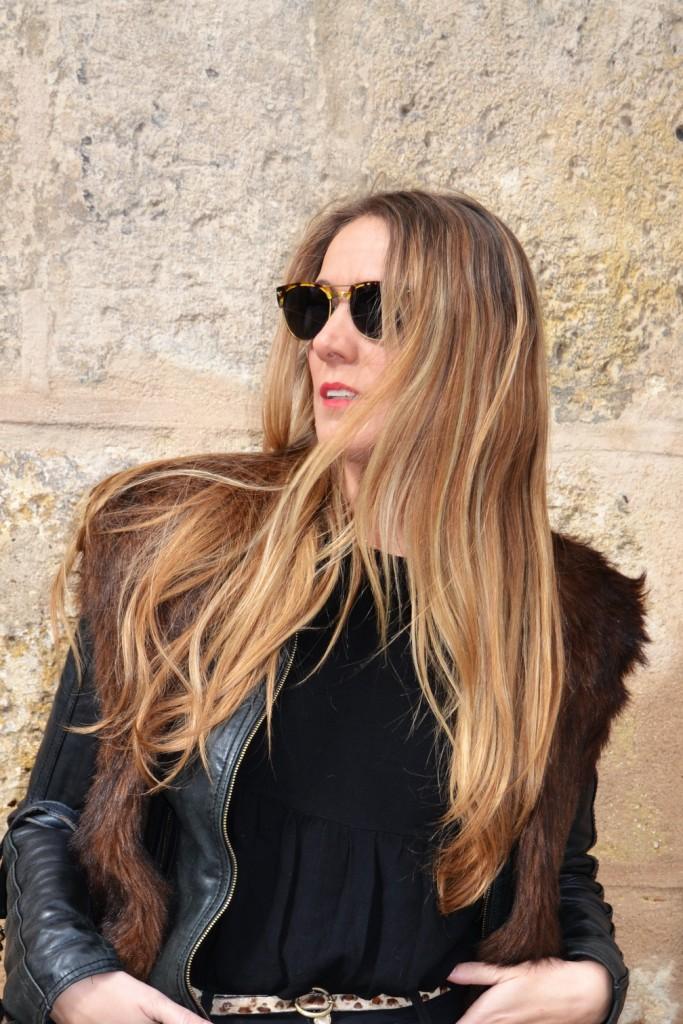 Chaleco de pelo - Zara 2