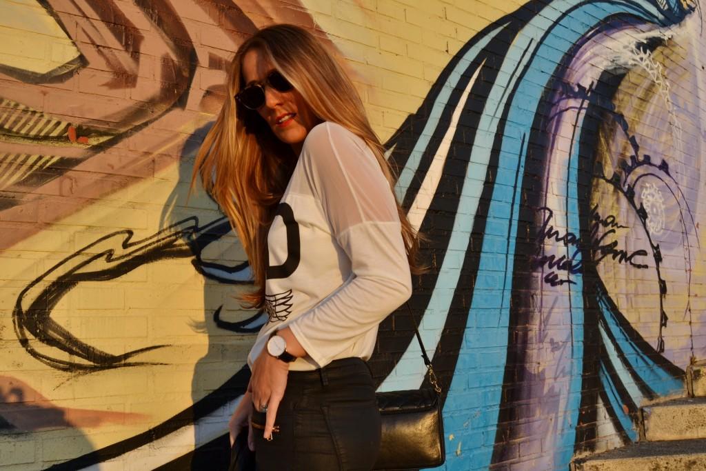 camiseta abaday guapayconestilo Araceli Vera