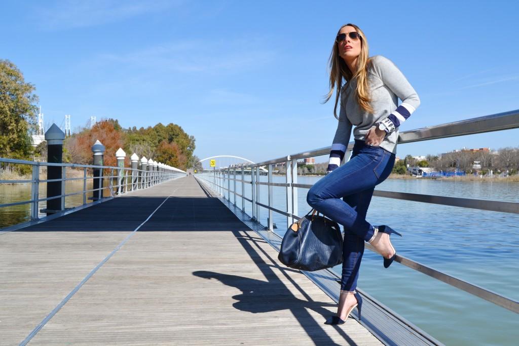 Look Navy , Navy  Zara Online