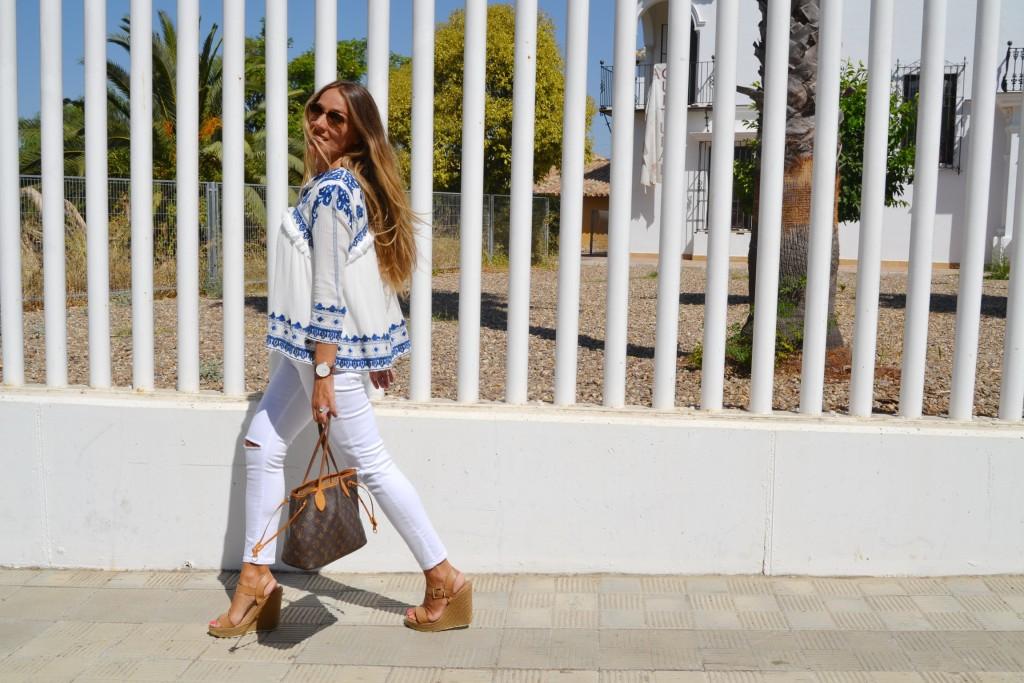chaqueta bordada sheinside de moda del verano