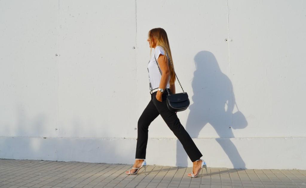 Sandalias de Zara en blanco