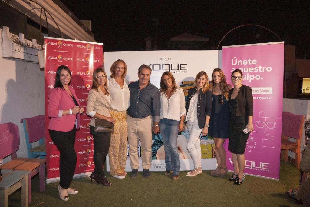 Con blogguers y empresarios de Sevilla
