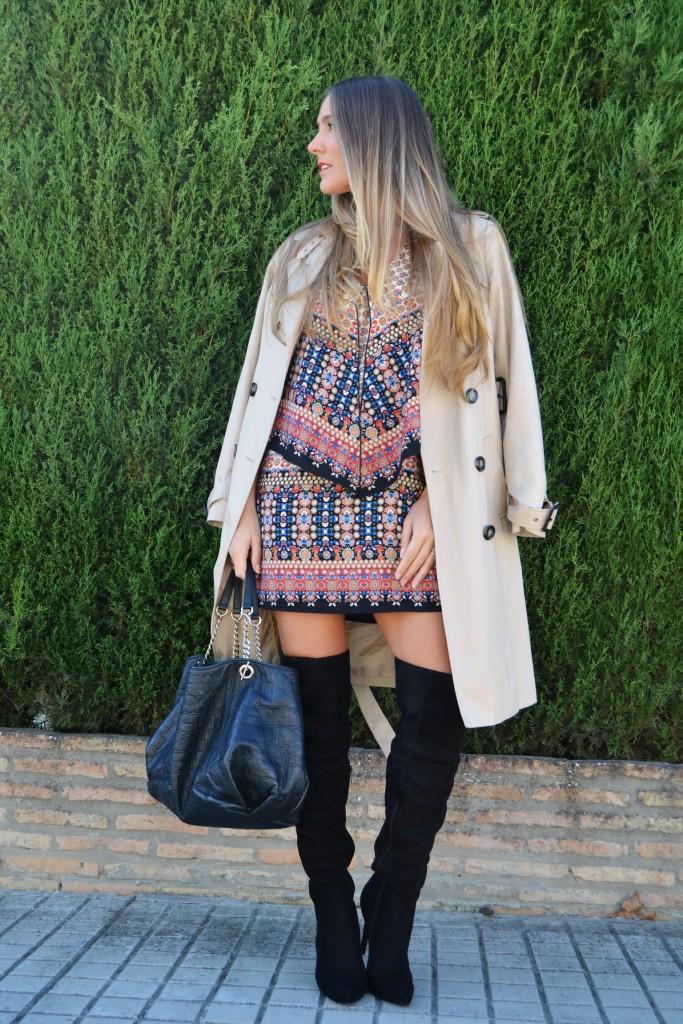 Vestido estampado 1