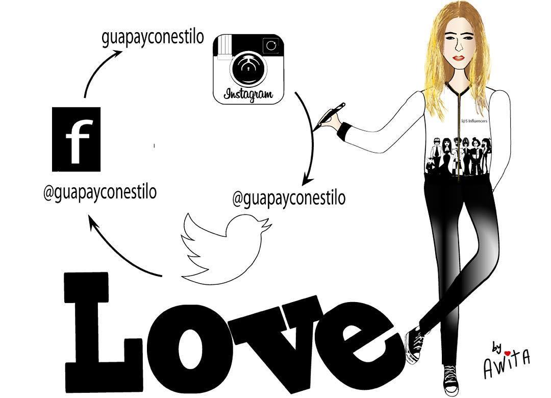 #ilustracion de @awitabynuria para unificar mis redes, a sí que sí no me seguís en alguna os espero Gracias