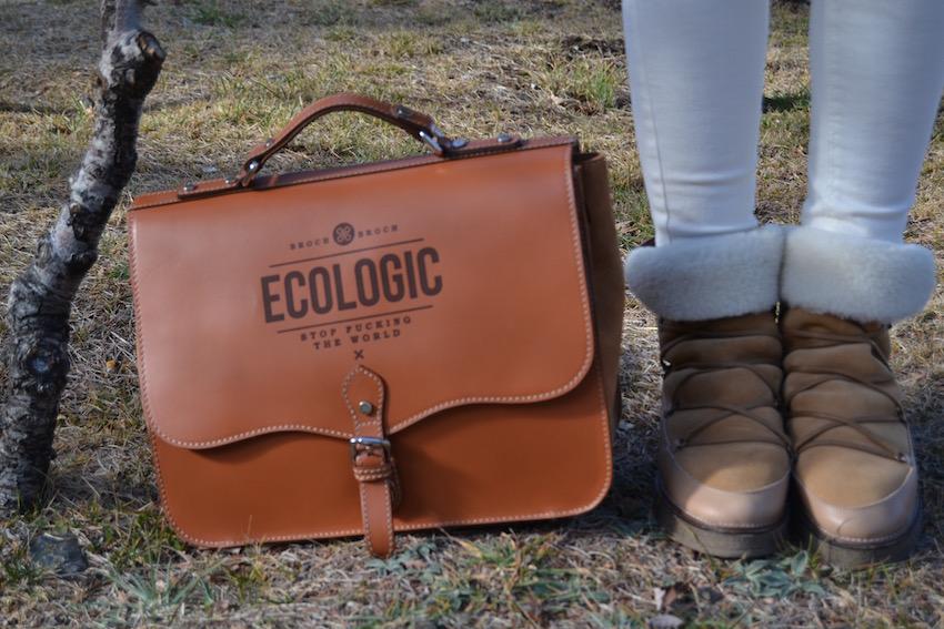 Bolso ecológico de broch&broch
