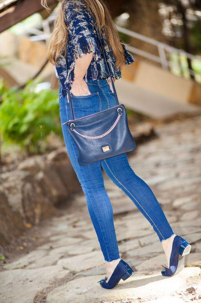 Jeans Azul de Zara