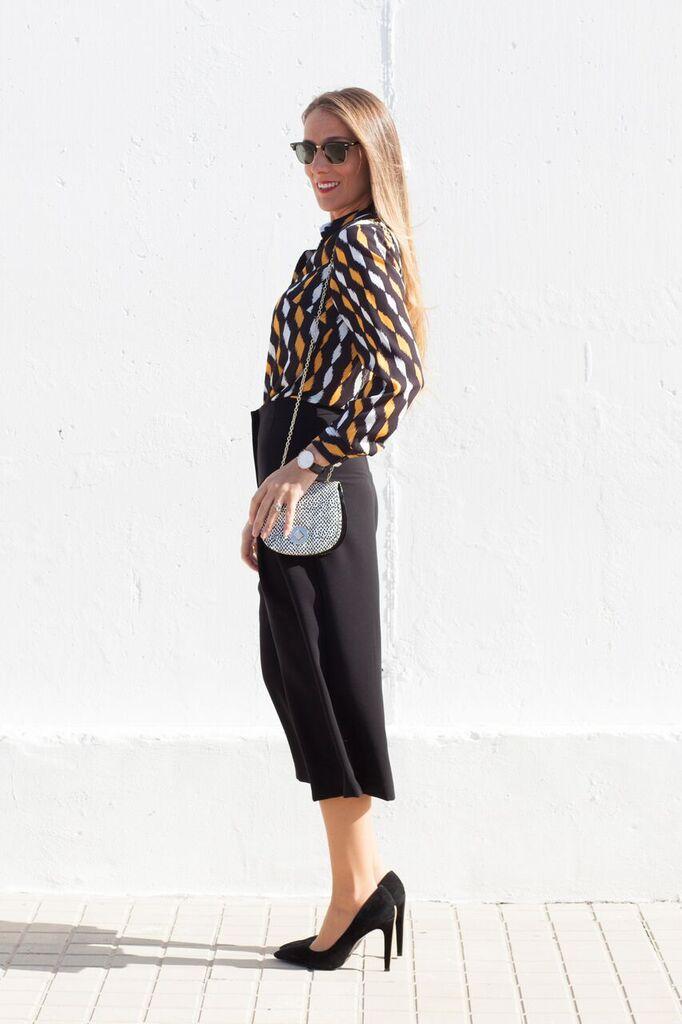 pantalones culottes bella spinella