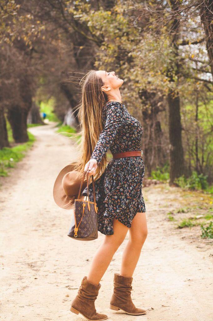 Vestido de Flores para un look romántico