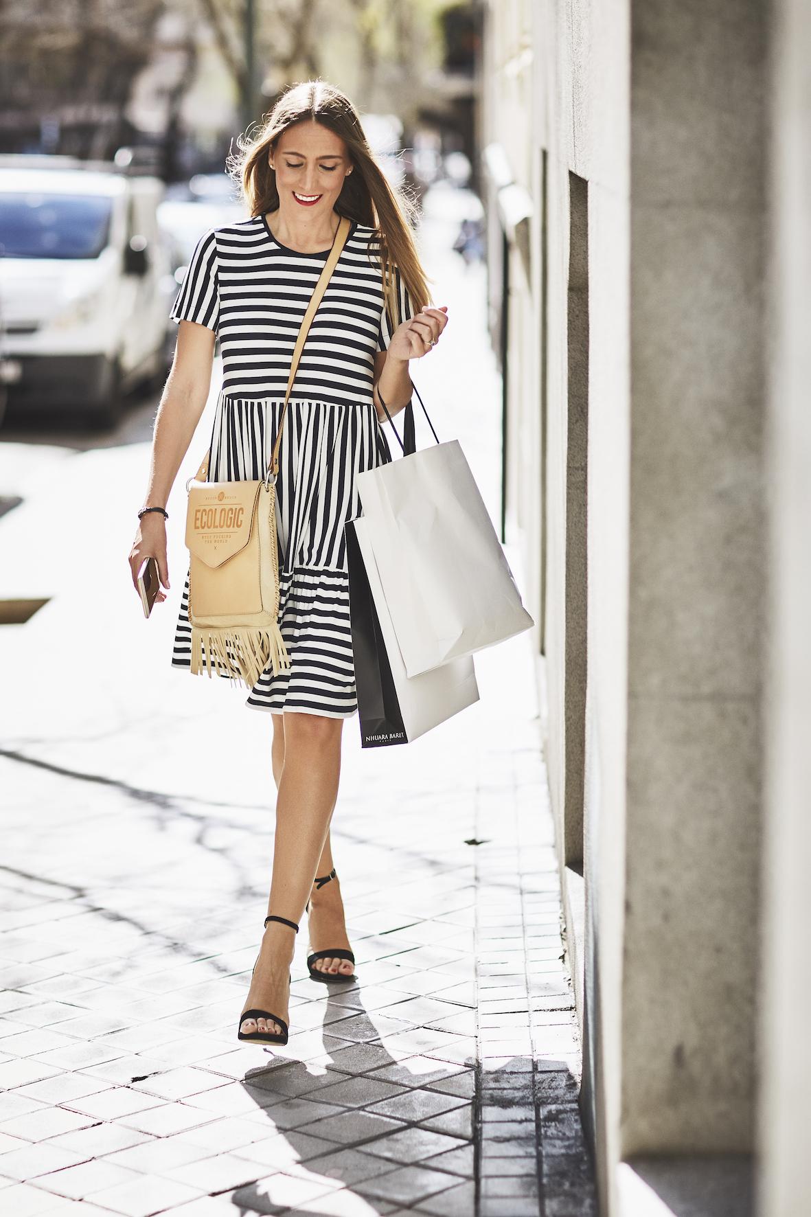 Vestido Navy Silvia Godino