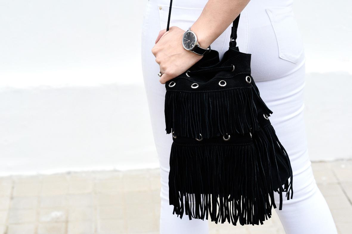 bolso negro La Redoute