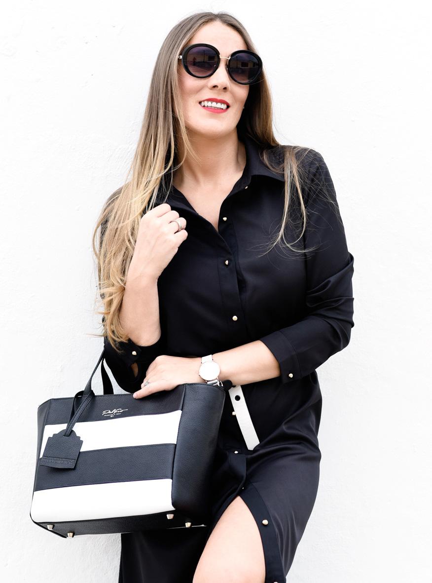 Black dress para mi nuevo bolso de PielFort