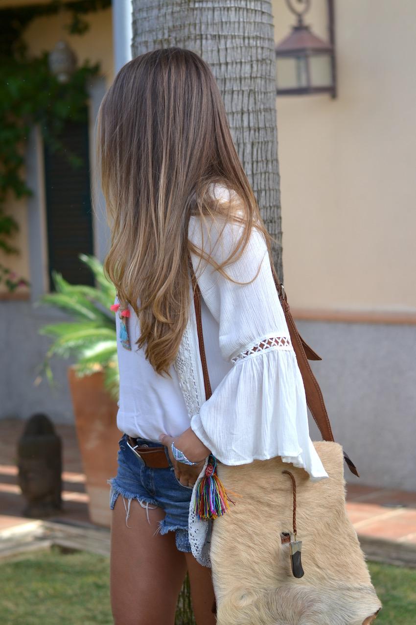 short jeans de Zara