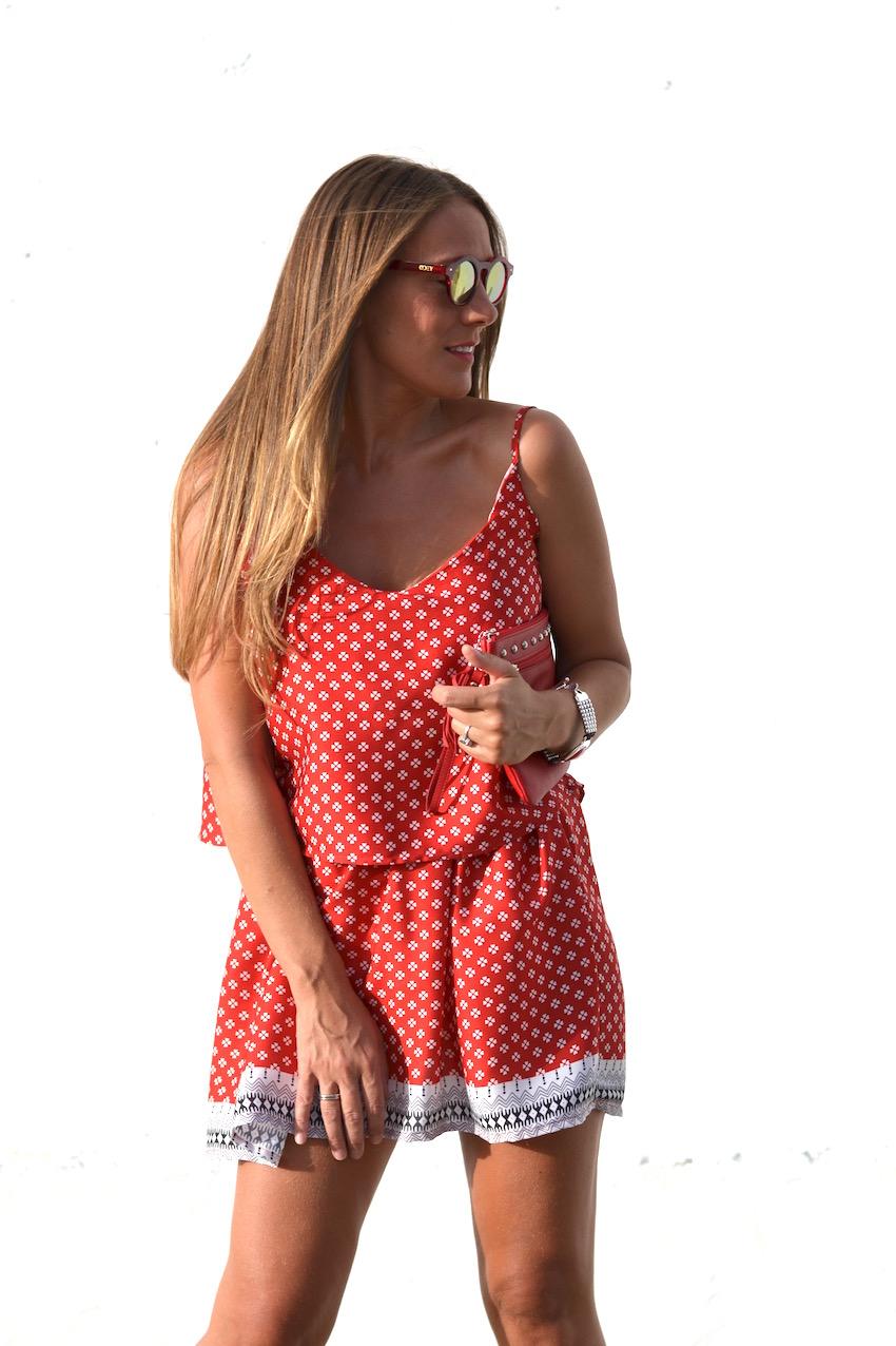 gafas en rojo y metálico 2Cool Sunglasses