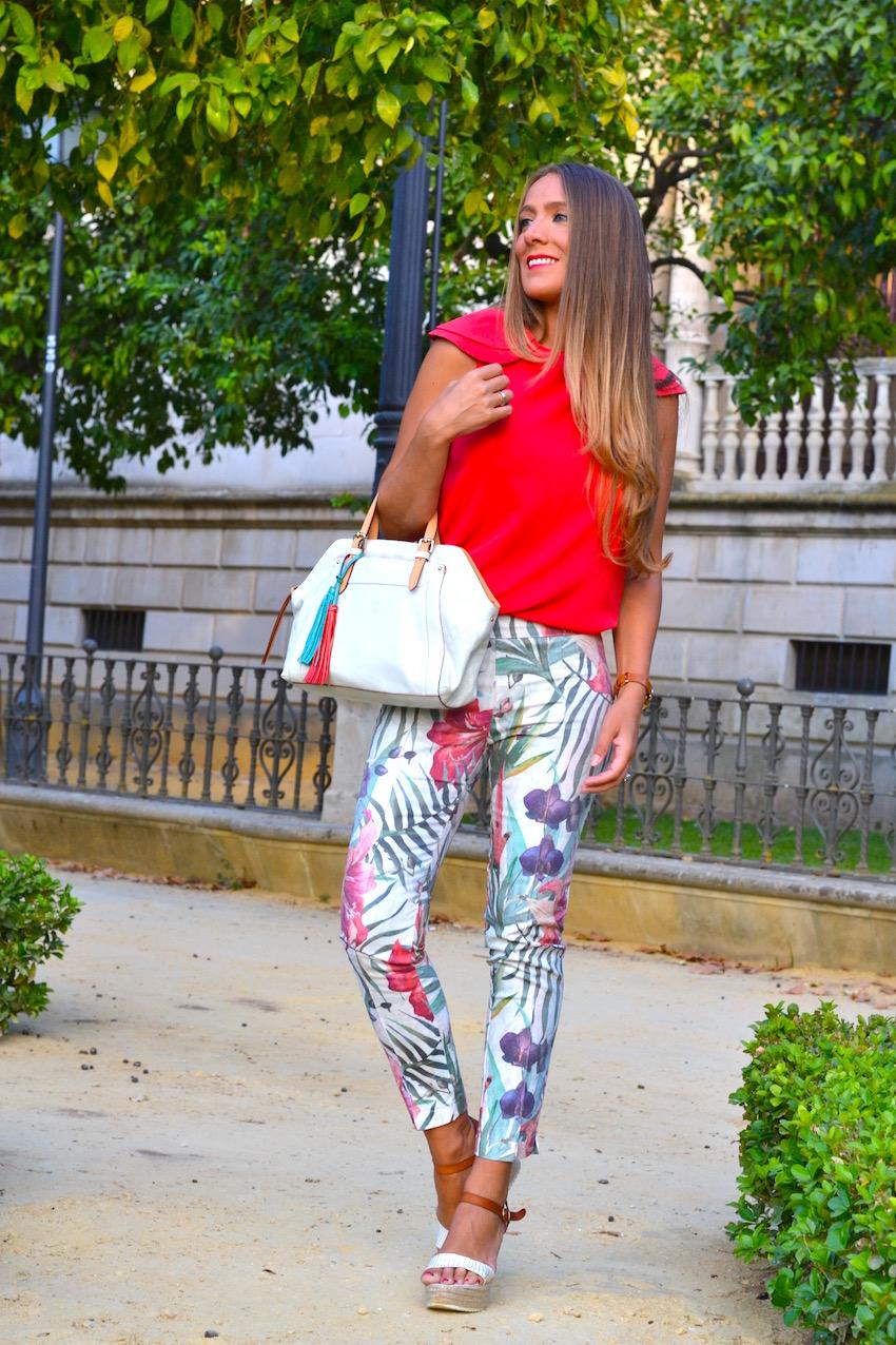 Blusa roja Cayro Woman