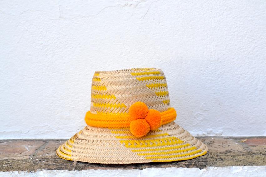 el sombrero wayúu de Urquia