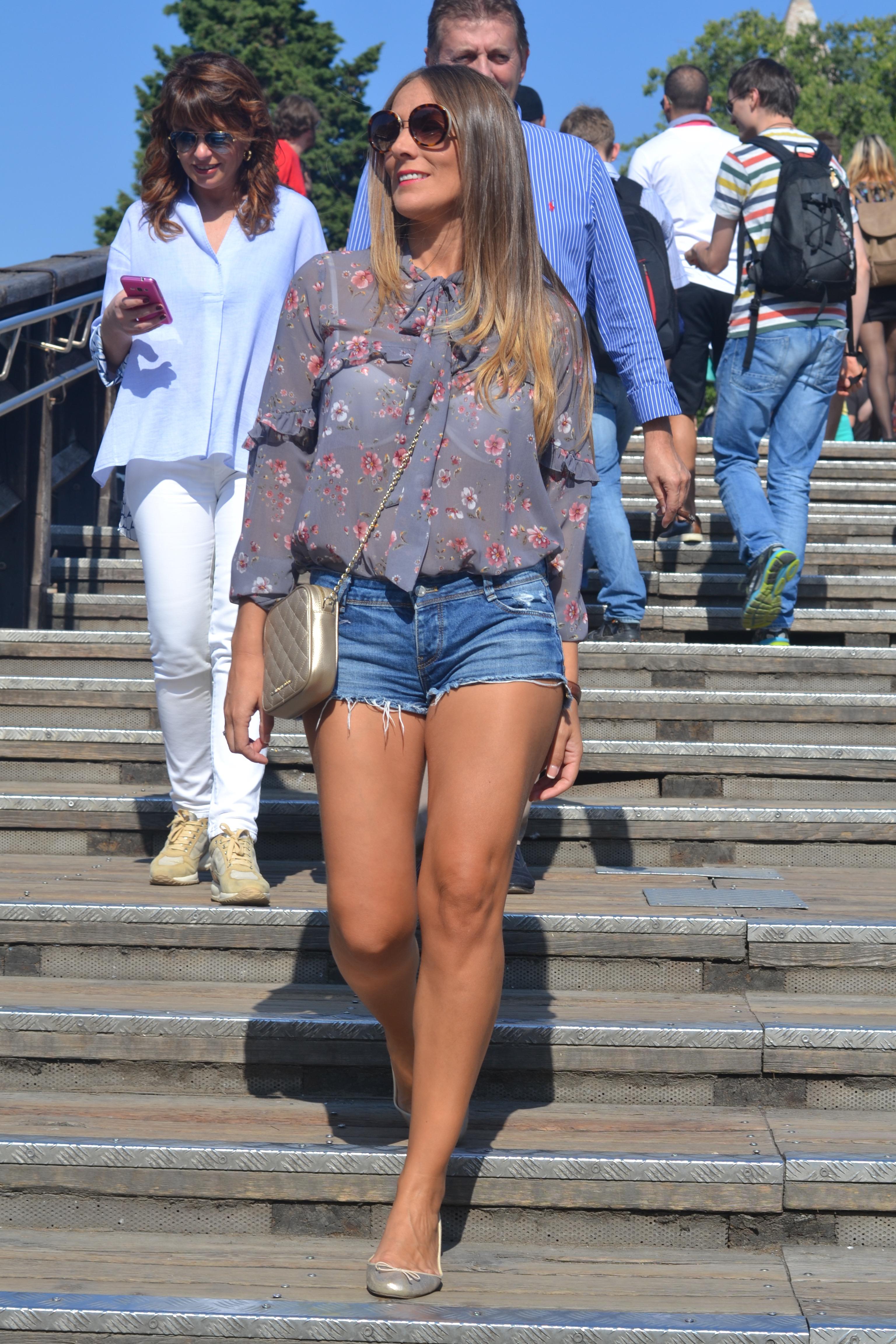 Guapayconestilo en el Puente Rialto, Venecia