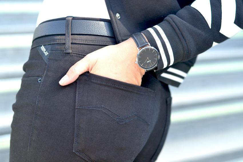 El Jeans negro perfecto