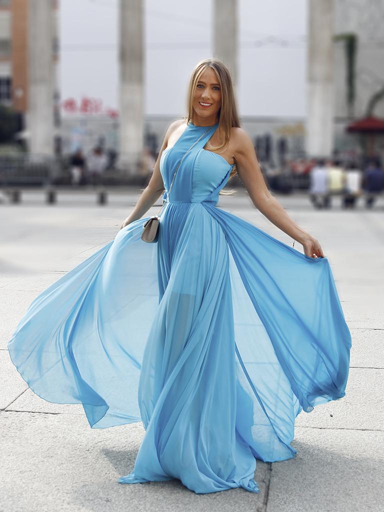 vestido de la diseñadora italiana Giovanna Nicolai