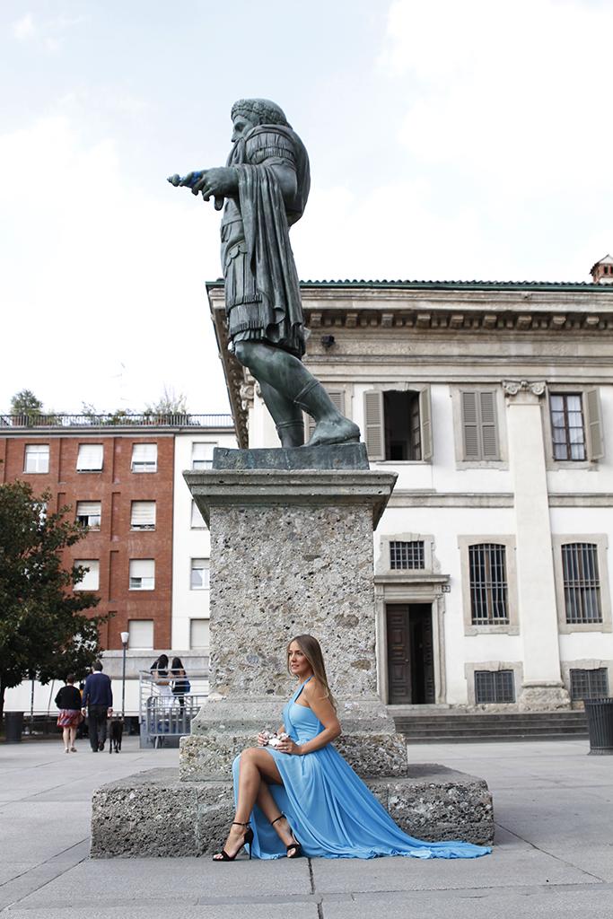 shooting en Milán para la diseñadora Giovanna Nicolai, con la fotógrafa Federica Giordano